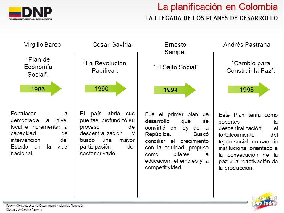 Álvaro Uribe Vélez 20022006 El presidente Uribe ha propuesto un Estado comunitario, participativo, que involucre a la ciudadanía en la consecución de los fines sociales; un Estado gerencial que invierta con eficiencia y autoridad los recursos públicos; un Estado descentralizado que privilegie la autonomía regional con transparencia, responsabilidad política y participación comunitaria.
