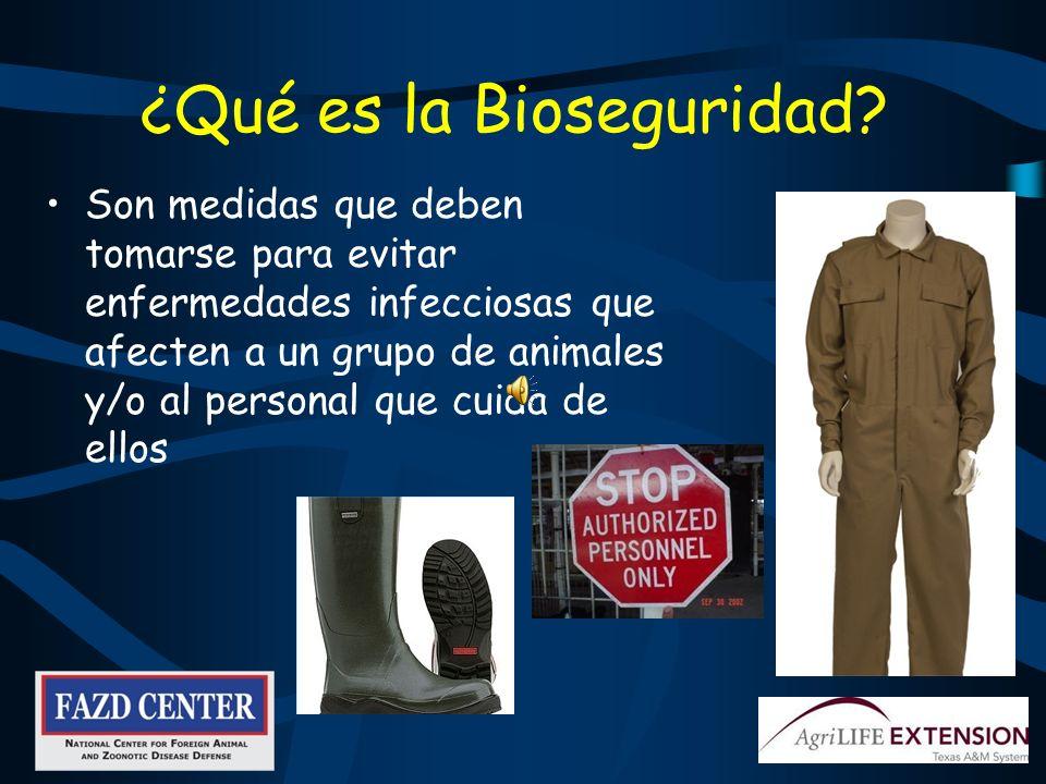 ¿Qué es la Bioseguridad.