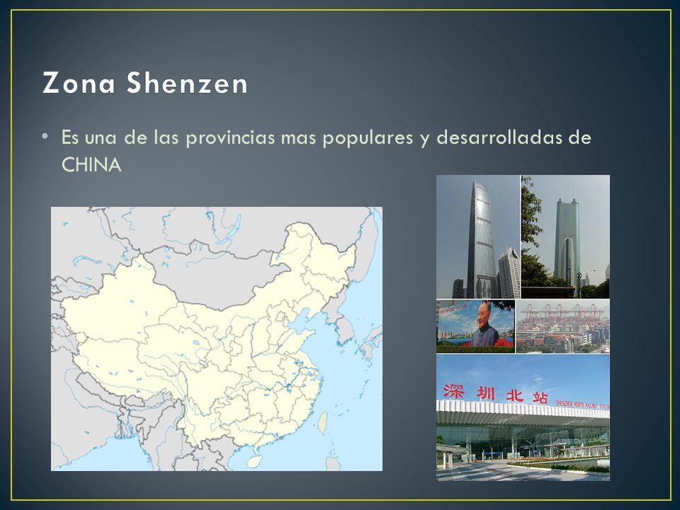 Es una de las provincias mas populares y desarrolladas de CHINA