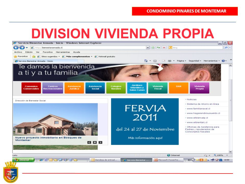 UBICACIÓN DEL PROYECTO CONDOMINIO PINARES DE MONTEMAR Escrivá de Balaguer COPEC Colegio Sagrada Familia Sitio 12.500 M2 Colegio Montemar