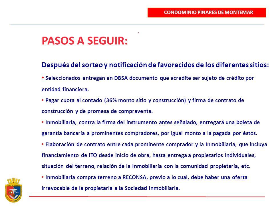 . Después del sorteo y notificación de favorecidos de los diferentes sitios: Seleccionados entregan en DBSA documento que acredite ser sujeto de crédi