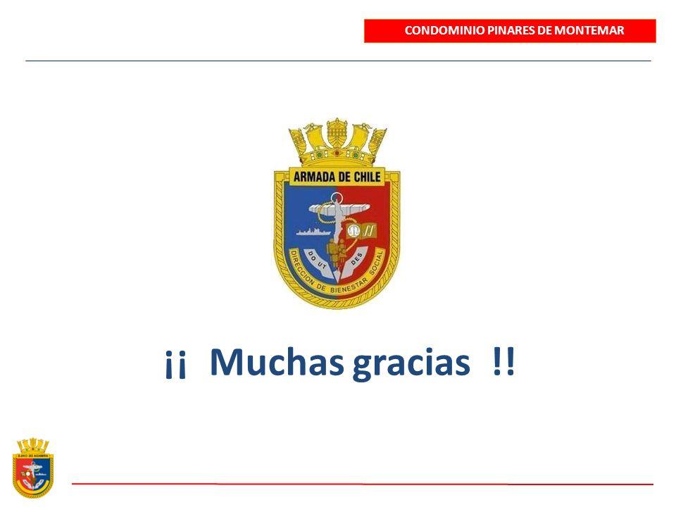 ¡¡ Muchas gracias !! CONDOMINIO PINARES DE MONTEMAR