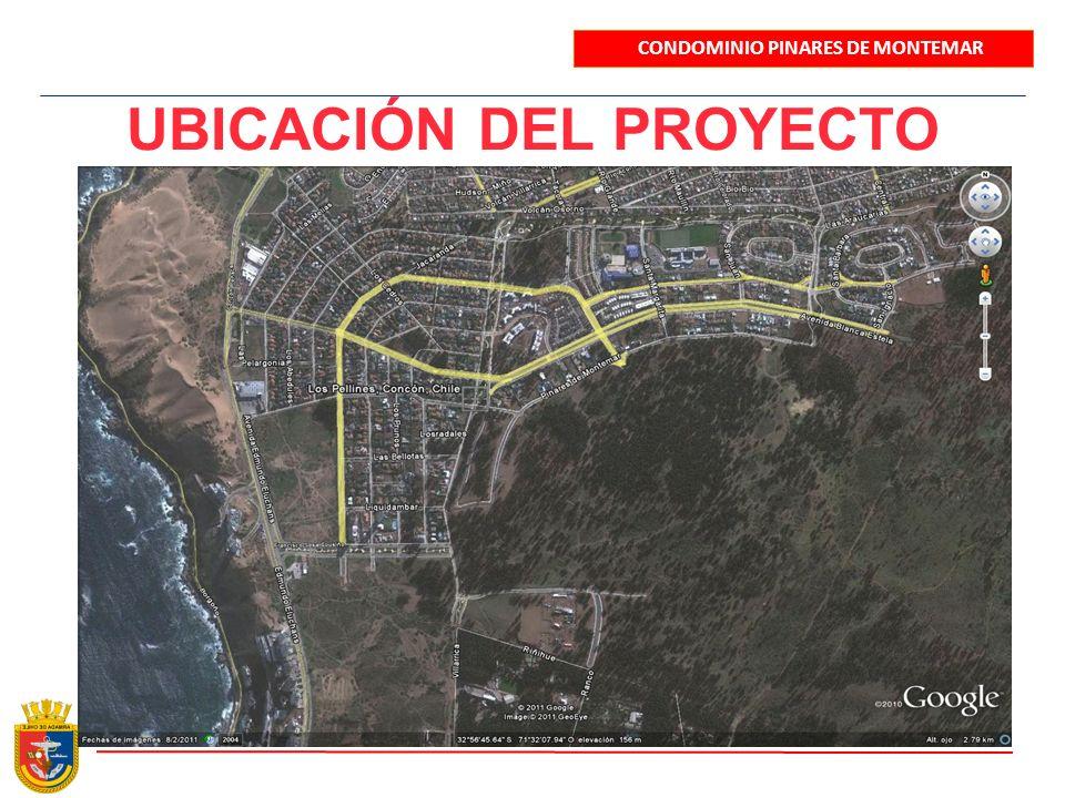 UBICACIÓN DEL PROYECTO CONDOMINIO PINARES DE MONTEMAR