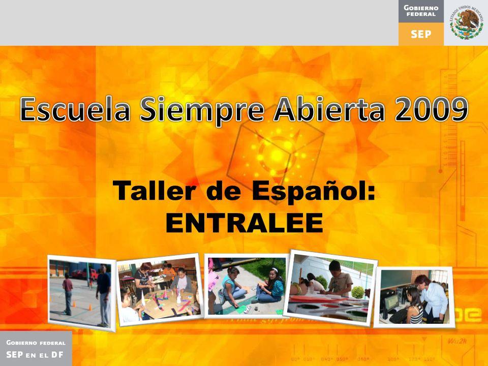 Taller de Español: ENTRALEE