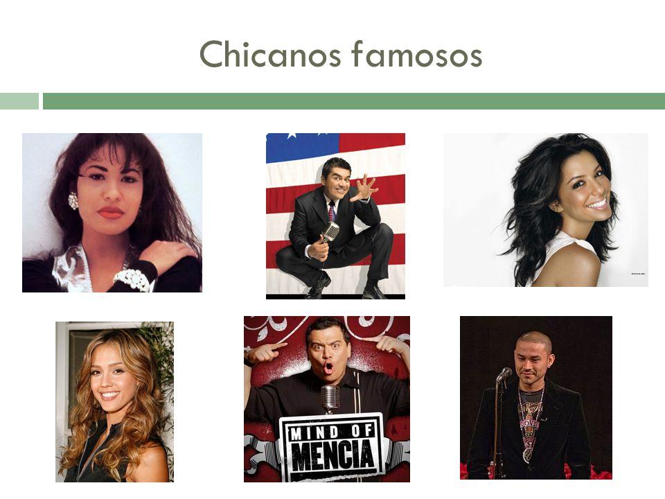 Chicanos famosos
