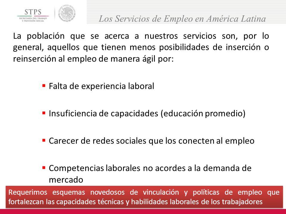 La experiencia de Brasil y de República Dominicana, dan clara cuenta de la importancia de fortalecer las políticas activas de empleo.
