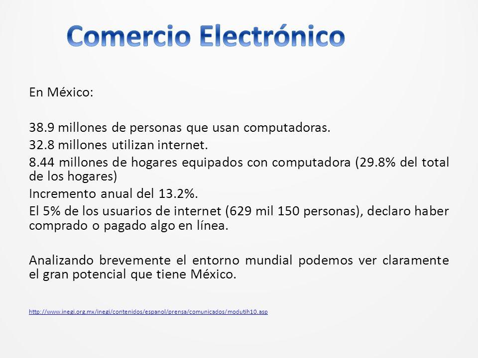 En México: 38.9 millones de personas que usan computadoras.