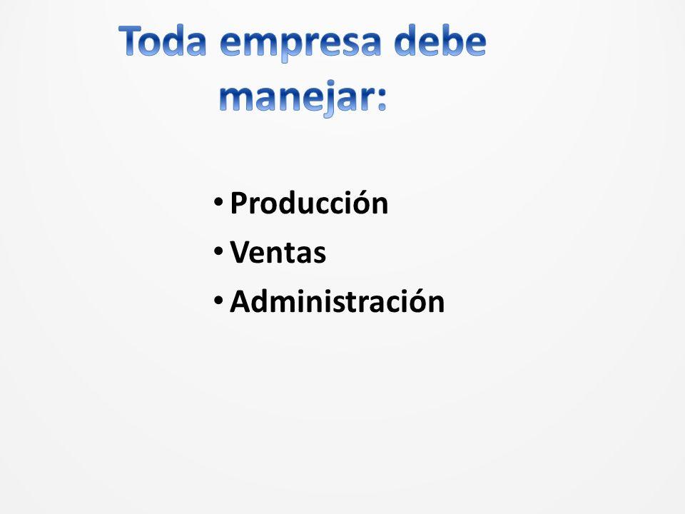 Producción Ventas Administración
