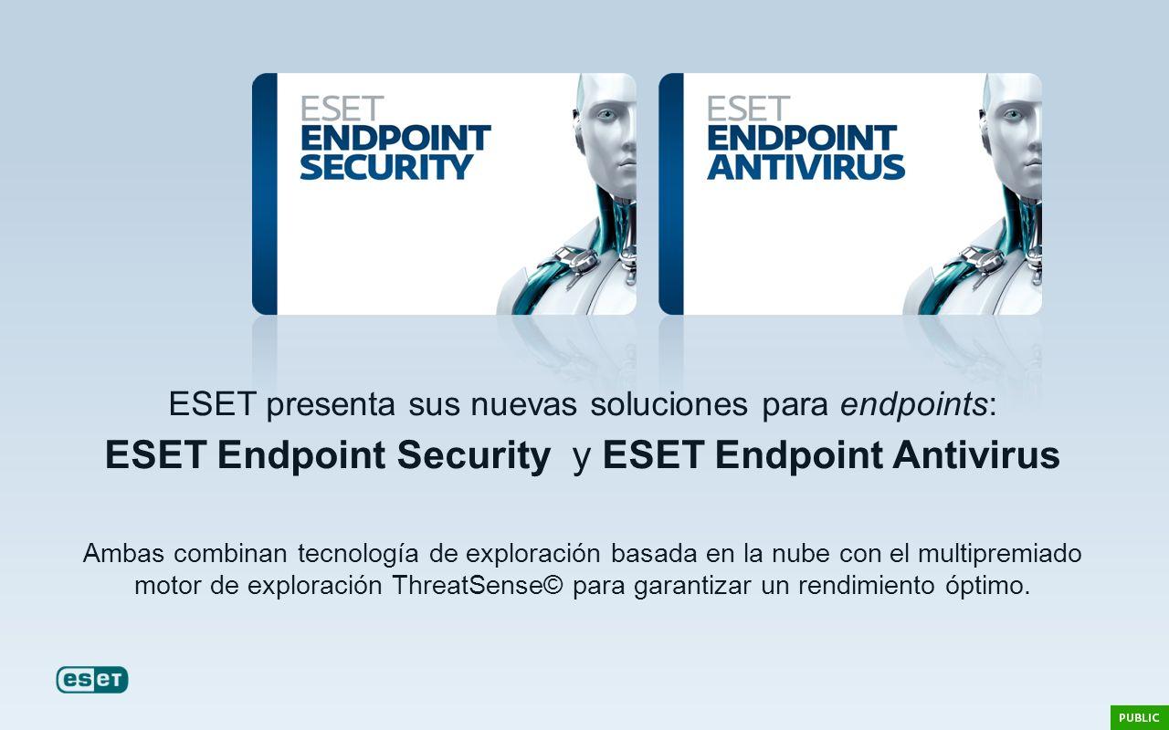 ESET presenta sus nuevas soluciones para endpoints: ESET Endpoint Security y ESET Endpoint Antivirus Ambas combinan tecnología de exploración basada e