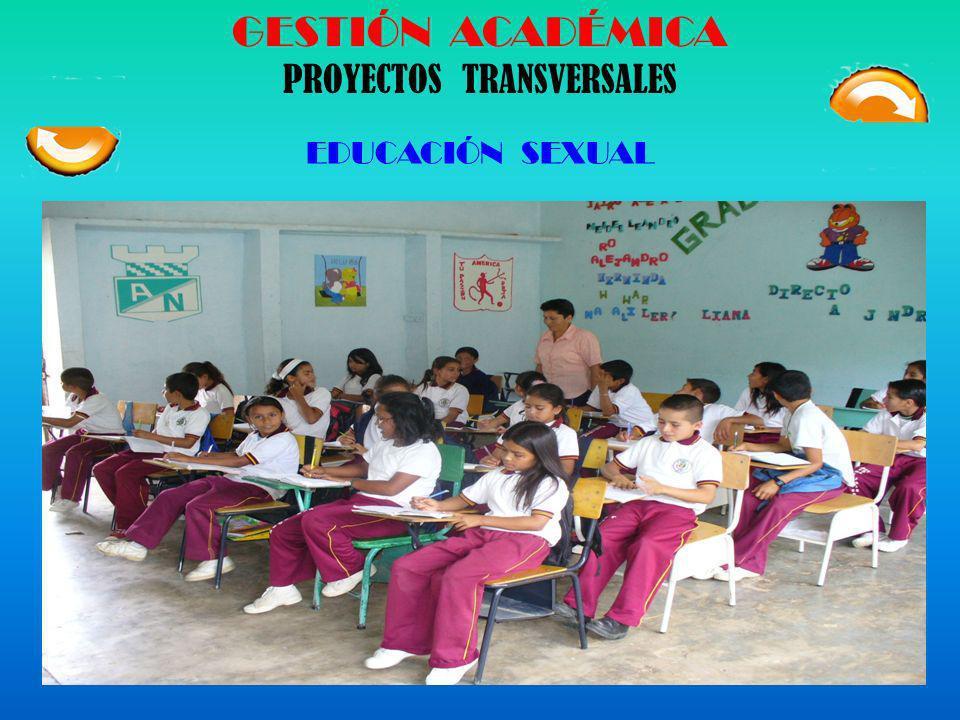 GESTIÓN ACADÉMICA PROYECTOS TRANSVERSALES EDUCACIÓN AMBIENTAL Para integrar su labor de docente, a la solución y manejo de los problemas del ambiente,