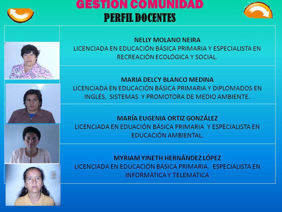GESTIÓN COMUNIDAD PERFIL DOCENTES DANIEL GONZÀLEZ LARA ESPECIALISTA EN PEDAGOGÌA, RECTOR DE LA INSTITUCIÒN EDUCATIVA TÈCNICA SAN JOSÈ ANDREDY RODRÍGUE