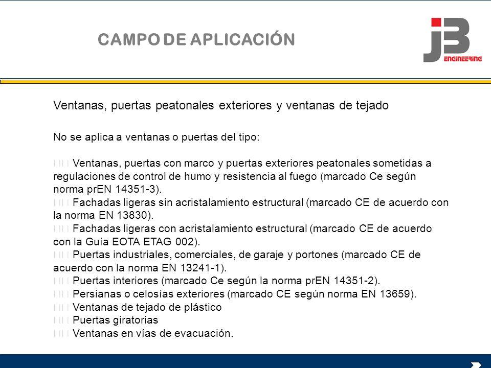 REQUERIMIENTOS PARA OBTENER EL MARCADO CE CONTROL DE PRODUCCIÓN EN FÁBRICA (CPF) ENSAYOS INICIALES DE TIPO (EIT)