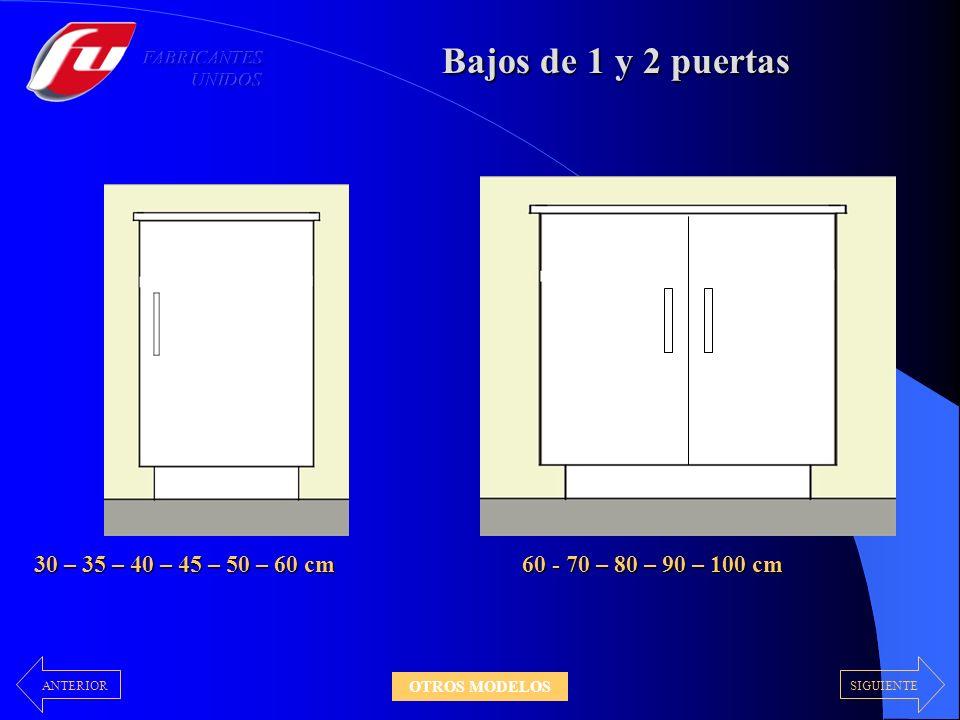 Módulos Abiertos Alacena Bodega En todos los colores disponibles De 40 - 60 - 70cm Alto14,3cm SIGUIENTE ANTERIOR OTROS MODELOS