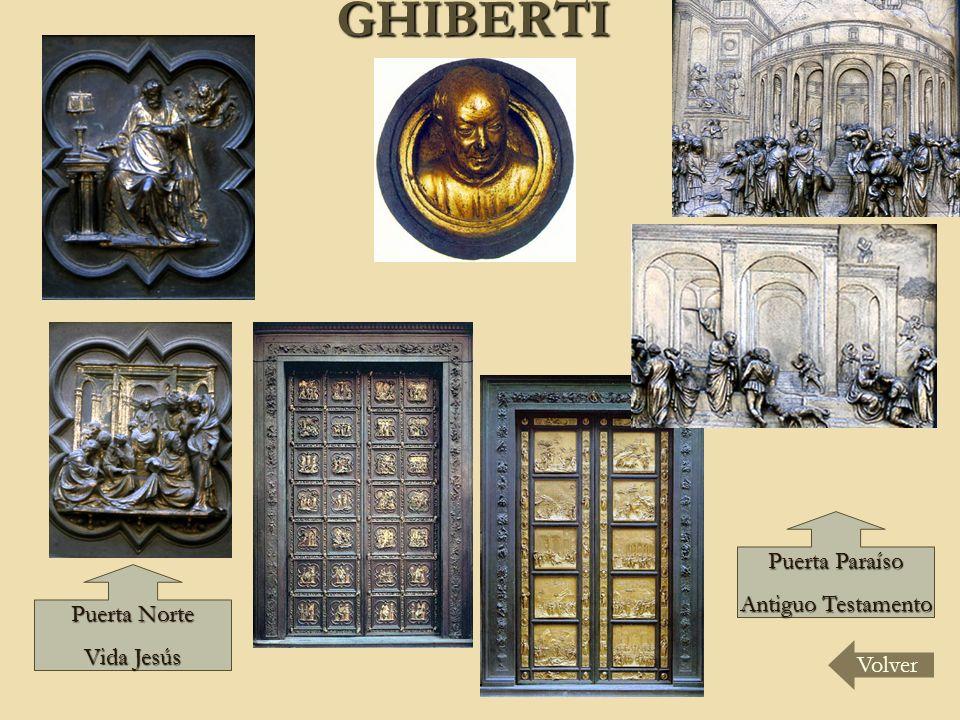 GHIBERTI Volver Puerta Norte Vida Jesús Puerta Paraíso Antiguo Testamento