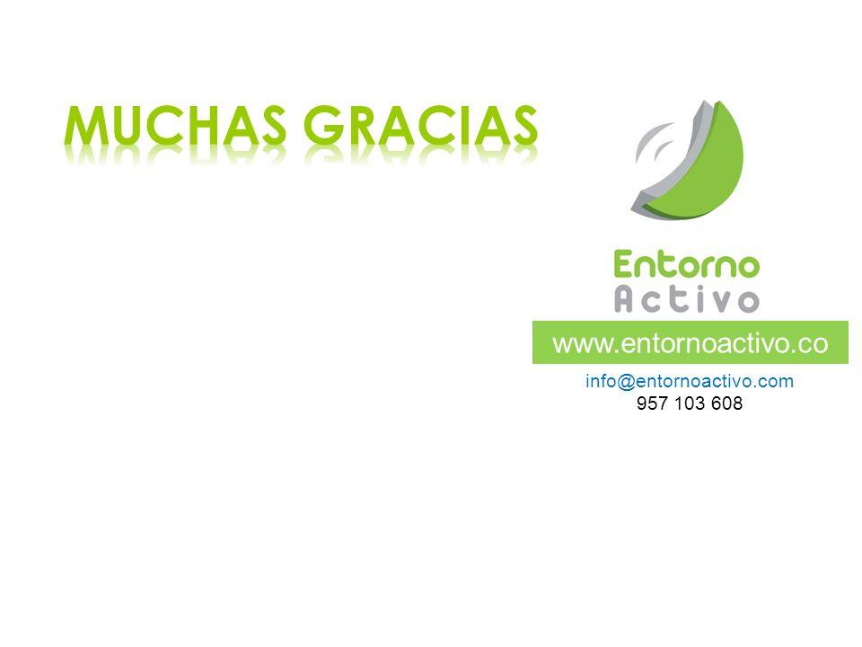 www.entornoactivo.co m info@entornoactivo.com 957 103 608