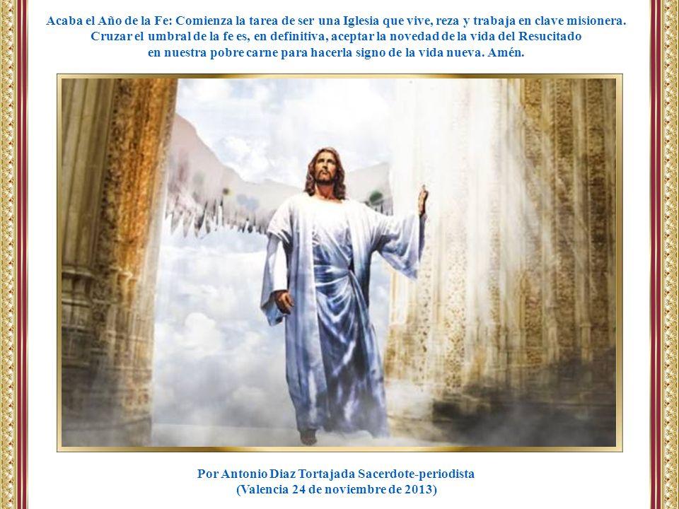 ¡Danos tu Espíritu y auméntanos nuestra pequeña fe para testificar con la comunión con todos los hombres.