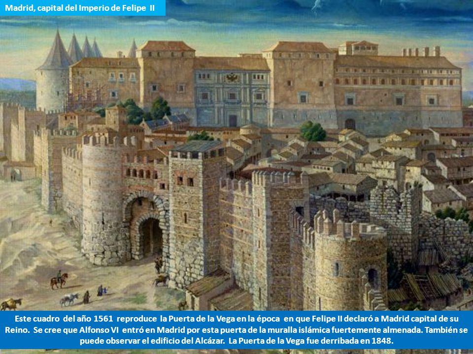 1.- Una vez conquistado Toledo, antigua capital visigótica en 1085, Alfonso VI de Castilla regresó a Madrid con el empeño de encontrar la imagen de la
