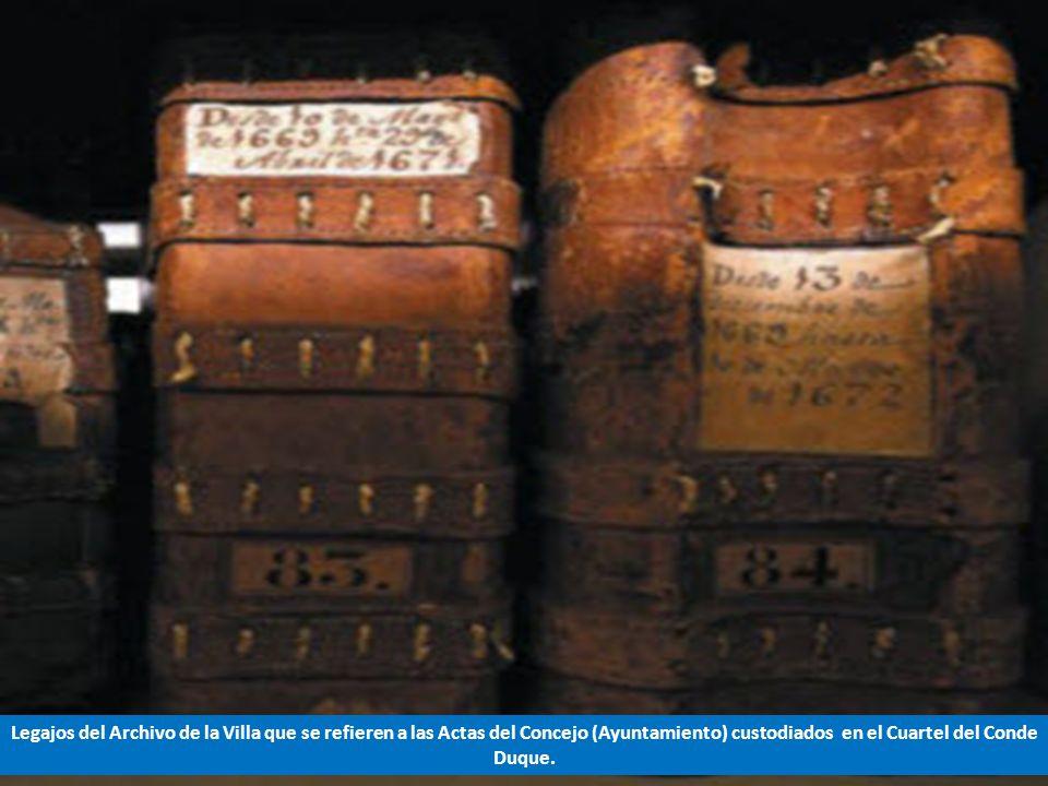 Una hoja del Códice, depositado en el Archivo de la Villa, que contiene el Fuero de Madrid del año 1202.