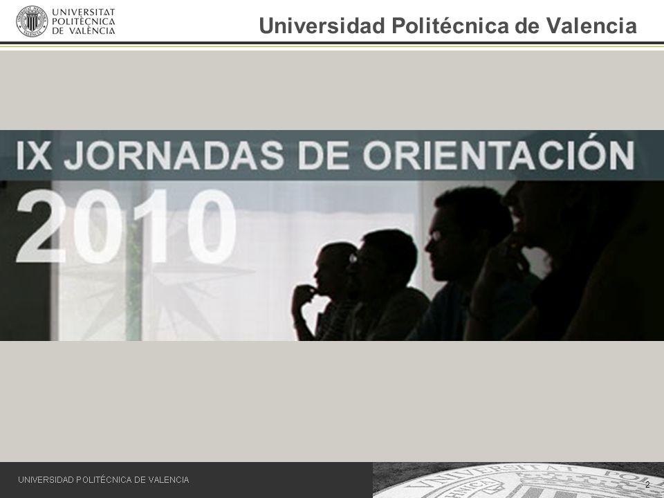 2 Universidad Politécnica de Valencia