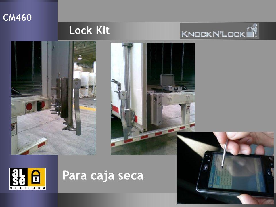 Lock Kit CM460 Para caja seca