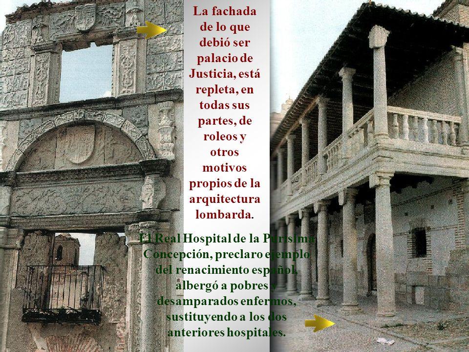 Extramuros perviven restos de lo que fue el Convento de San Agustín, que vio morir al más ilustre de los personajes relacionados con Madrigal: Fray Luis de León.