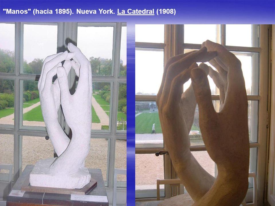 Además de la escultura original que se encuentra en Calais, la técnica de vaciado permite realizar varias copias a partir del molde original. La ley f