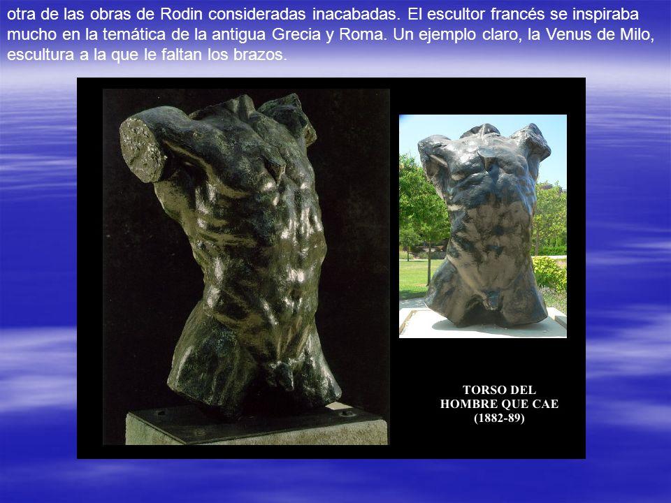 EL PENSAMIENTO Camille Claudel,hermana del escritor Paul Claudel, alumna y amante de Rodin, posaba con frecuencia para él y el escultor le dedicó vari