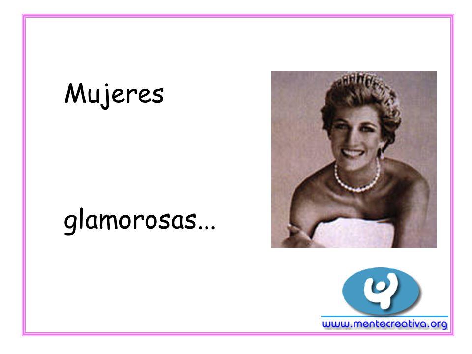 Mujeres maravillosas...