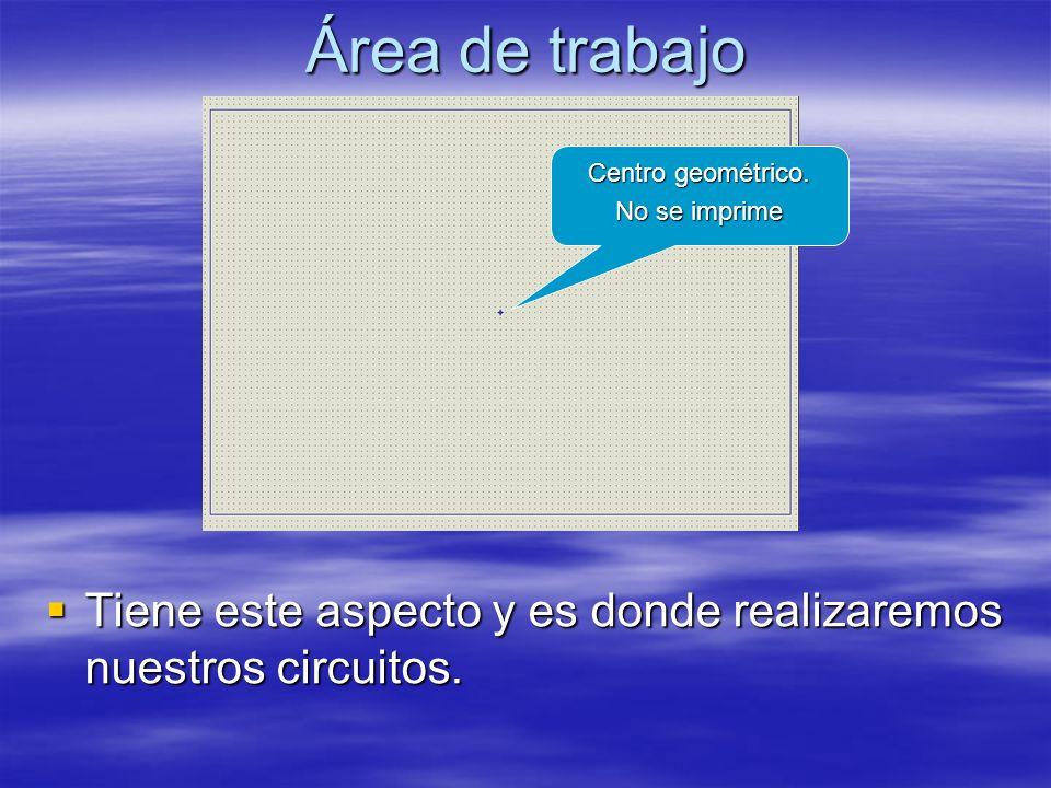 Mover un componente Para desplazar un componente de su ubicación hay que seleccionarlo primero.