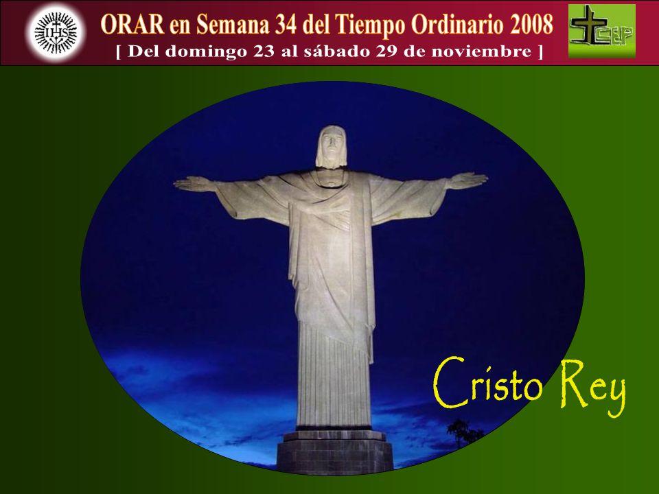 Con este domingo dedicado a Cristo Rey, llegamos a la última semana del tiempo litúrgico denominado Ciclo A.