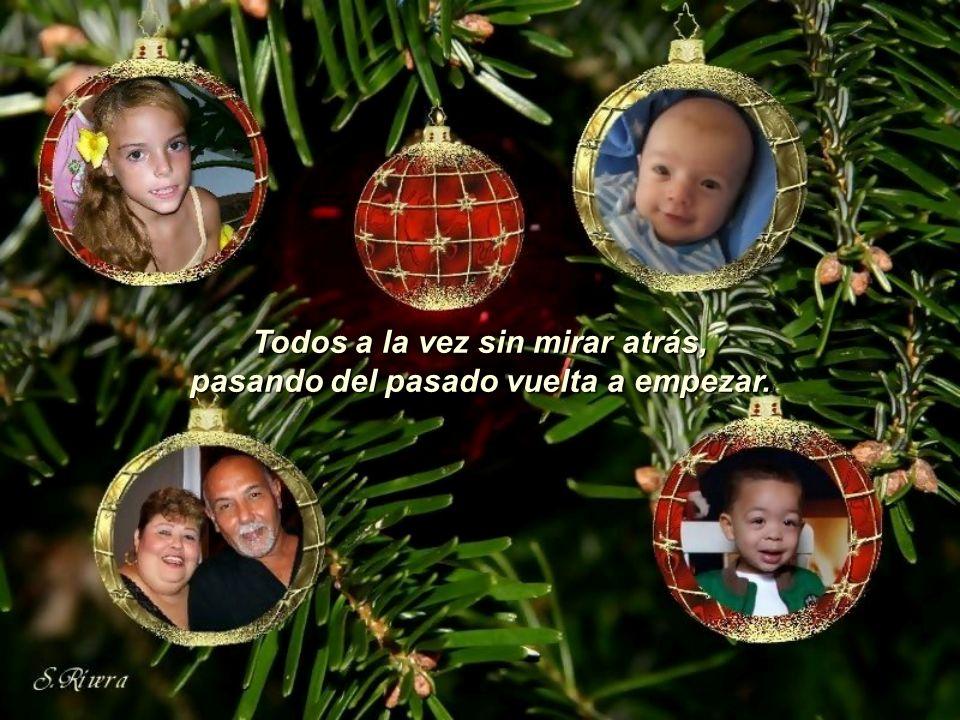Esta Navidad tenemos que lograr, hacer del mundo un oasis de paz.
