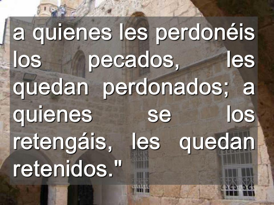Puesto que Él os hace personas solidarias, en momentos difíciles Por eso, os envío el Espíritu, para que os enseñe este AMOR Pascual