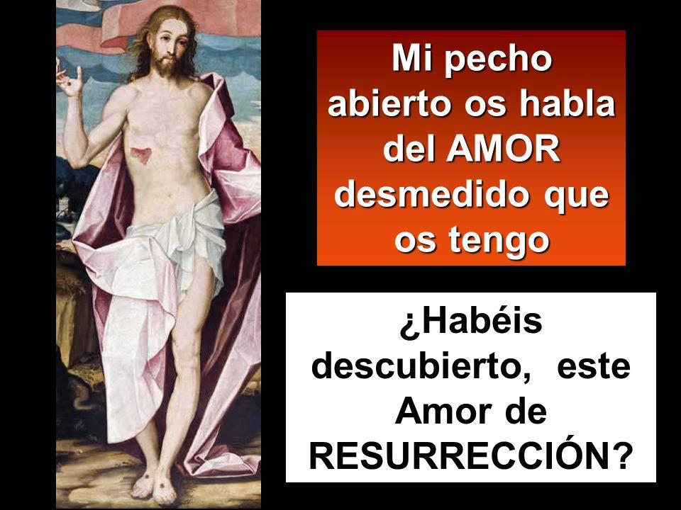 Y en esto entró Jesús, se puso en medio y les dijo: Paz a vosotros. Y, diciendo esto, les enseñó las manos y el costado.
