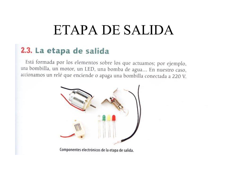 ETAPA DE SALIDA