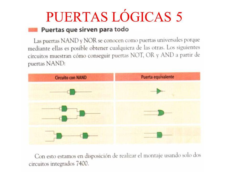 PUERTAS LÓGICAS 5