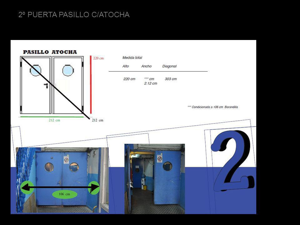 3º PUERTA PASILLO C/ATOCHA