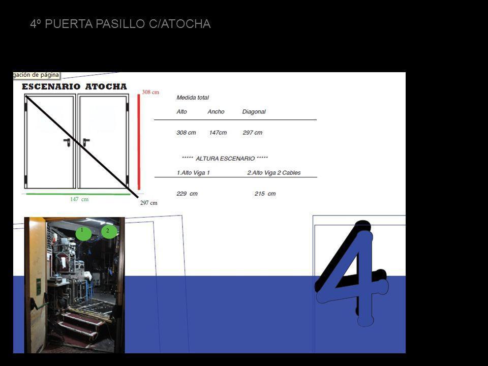 4º PUERTA PASILLO C/ATOCHA