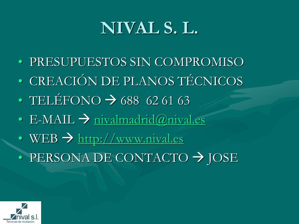 NIVAL S.L.
