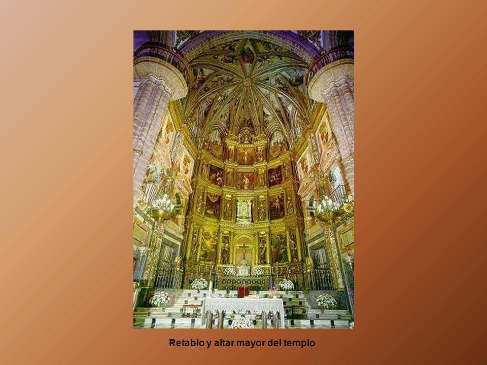 El recinto del templo ocupa una superficie de 1.170 metros cuadrados, es de estilo gótico-mudéjar. Primero se construyó la iglesia a partir de la ermi