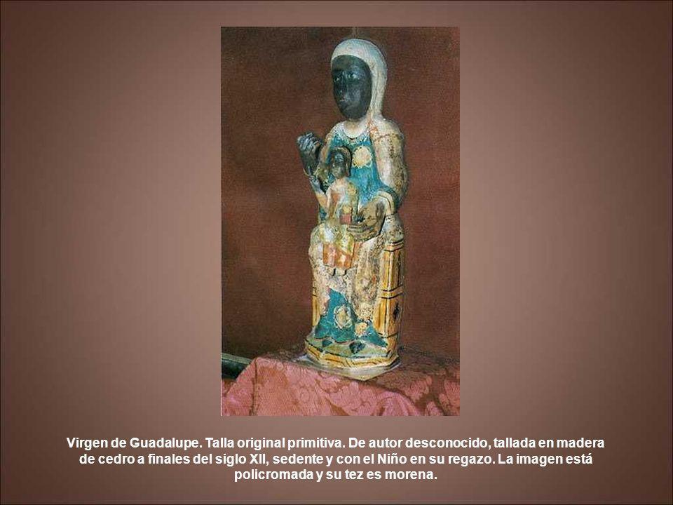 Camarín de la Virgen de Guadalupe.Lienzo de Lucas Jordán