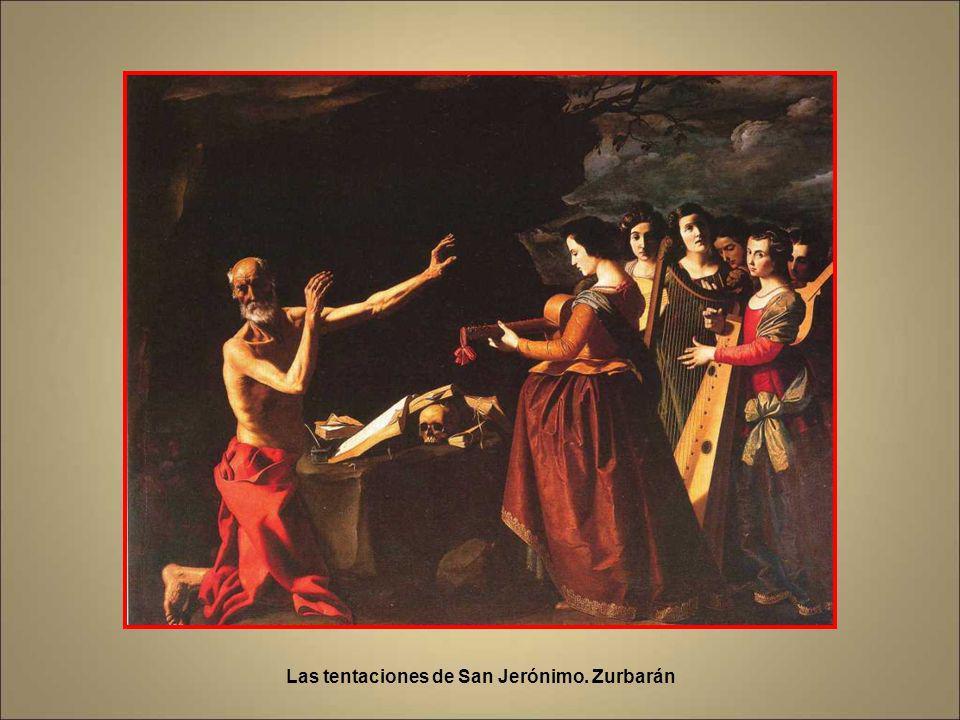 Apoteosis de San Jerónimo. Zurbarán