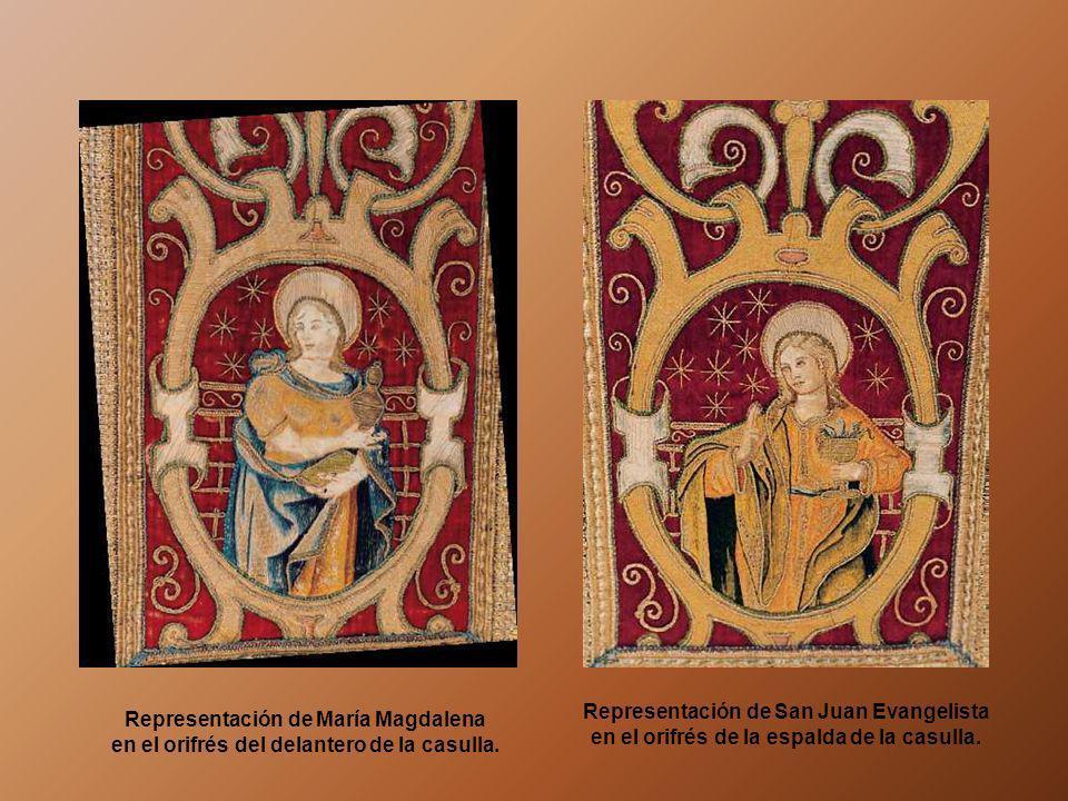 CASULLA DEL TERNO DEL TANTO MONTA El terno del Tanto Monta, conservado en el Museo de Guadalupe, está formado por casulla, dalmática y tunicela. Se tr