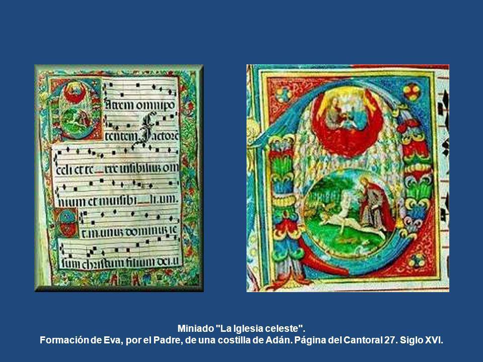 Los libros miniados que alberga forman una incomparable colección de 107 ejemplares confeccionados en piel en los Talleres de escribanía e iluminación