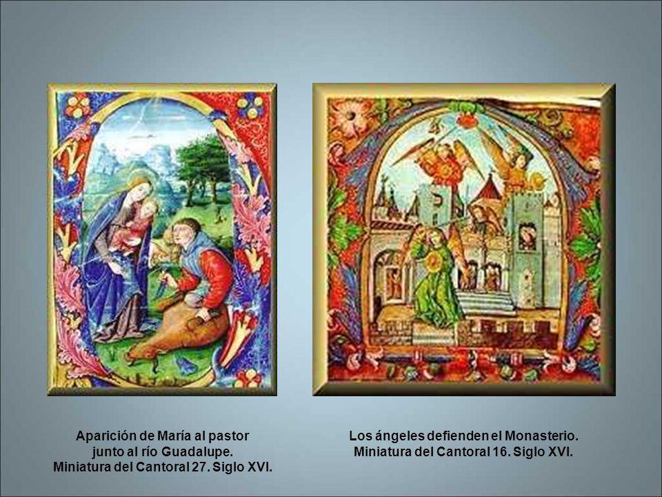 La Cruz en la Batalla del Salado, Dibujo de un Cantoral del siglo XVI. San Jerónimo, doctor de la Iglesia