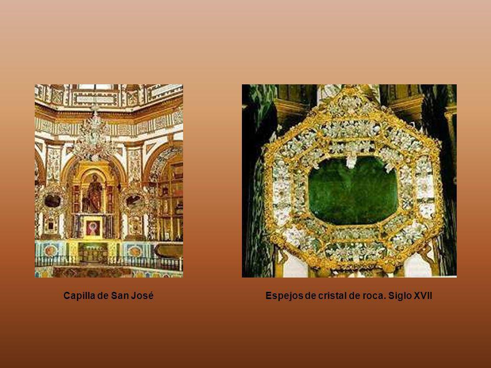 El Relicario de Guadalupe es una suntuosa capilla de forma octogonal dedicada a San José. Fue construida a finales del siglo XVI, bajo la dirección de