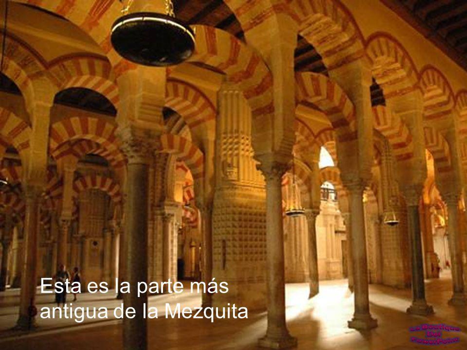 El muro de la quibla, era un muro interno orientado hacia la Meca, y al que se dirigían los fieles al rezar.