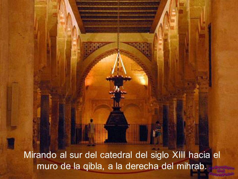 Esta es la parte más antigua de la Mezquita