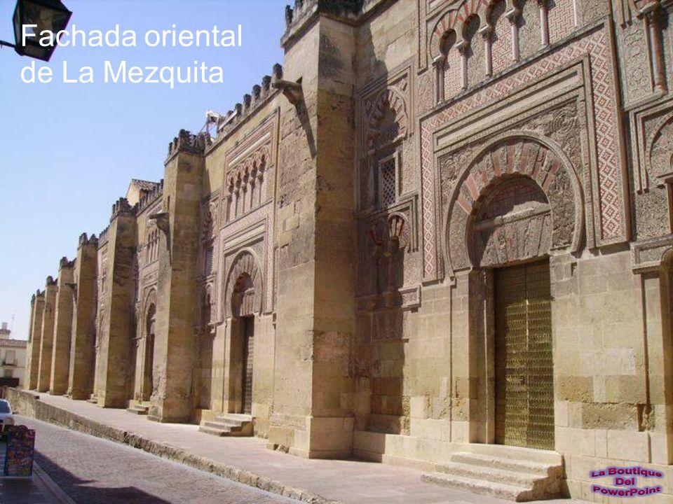 Fachada oriental de La Mezquita