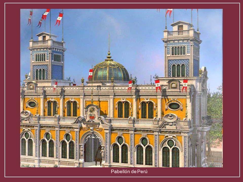 Pabellón de las indias holandesasPabellón de Rumania