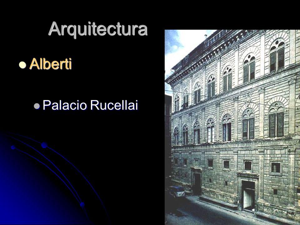 Arquitectura Alberti Alberti Palacio Rucellai Palacio Rucellai